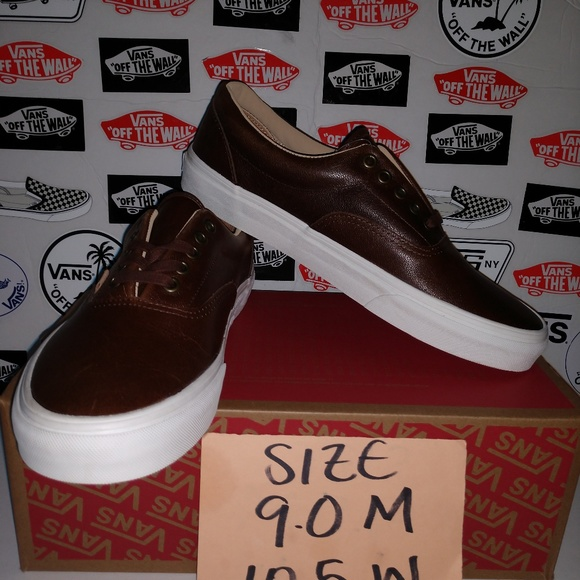 245aee5895 VANS ERA 59 LEATHER SIZE 9.0 MEN 10.5 WOMEN